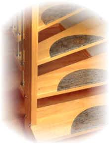 treppenbel ge f r holztreppen gel nder f r au en. Black Bedroom Furniture Sets. Home Design Ideas